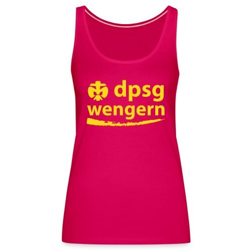 DPSG Wengern Front - Frauen Premium Tank Top