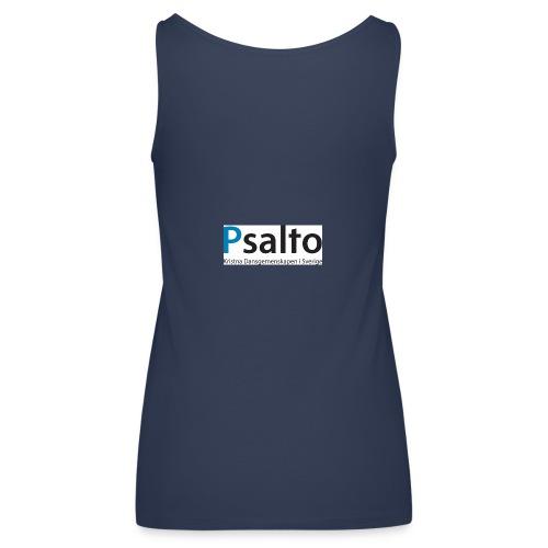 Psalto svblå KDGS rediger - Premiumtanktopp dam
