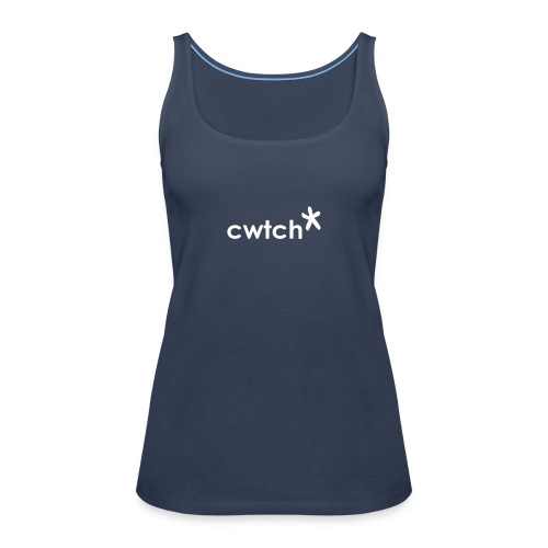 cwtch hug from a star - Women's Premium Tank Top