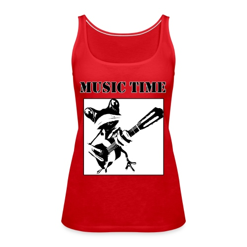 Music time - Frauen Premium Tank Top