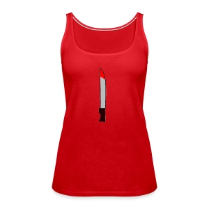 Messer - Frauen Premium Tank Top