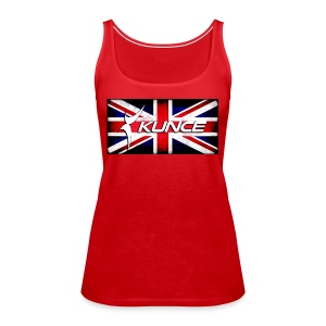 Kunce UK Union Jack Grunge - Women's Premium Tank Top