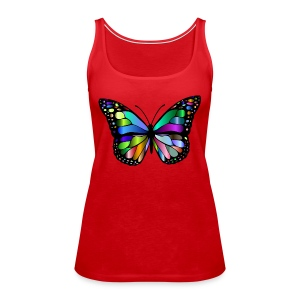Colorful butterfly - Women's Premium Tank Top