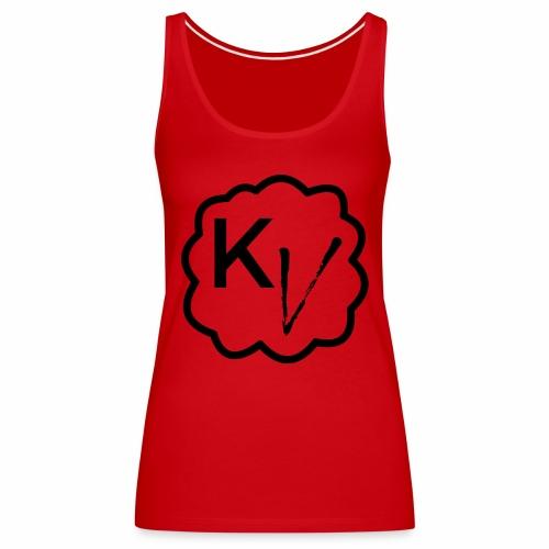 King Vape Icon - Women's Premium Tank Top