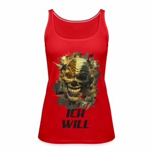 Ich Will - Golden Grunge - Frauen Premium Tank Top