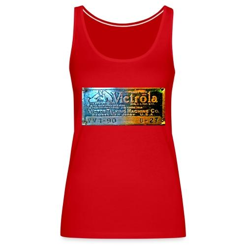 vitrola - Camiseta de tirantes premium mujer