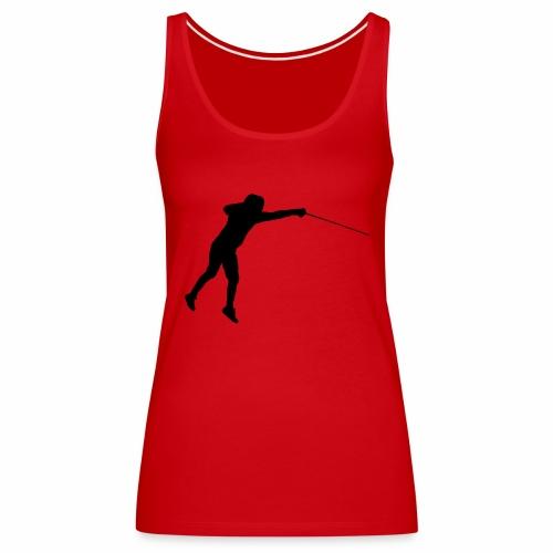 Jumping Fencer - Frauen Premium Tank Top