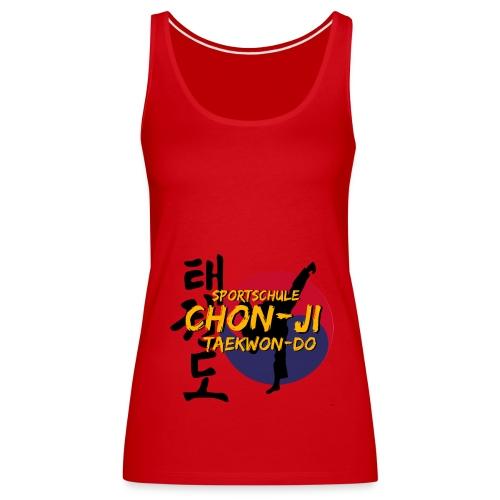 taekwondo2 - Frauen Premium Tank Top