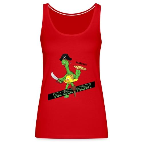 The kiwi family logo - Premium singlet for kvinner