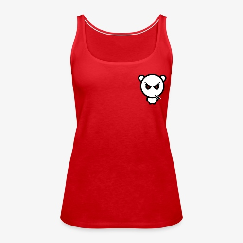 Merchandise with MiN0R Logo. - Premium singlet for kvinner