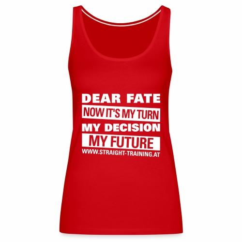 Decision Future - Frauen Premium Tank Top