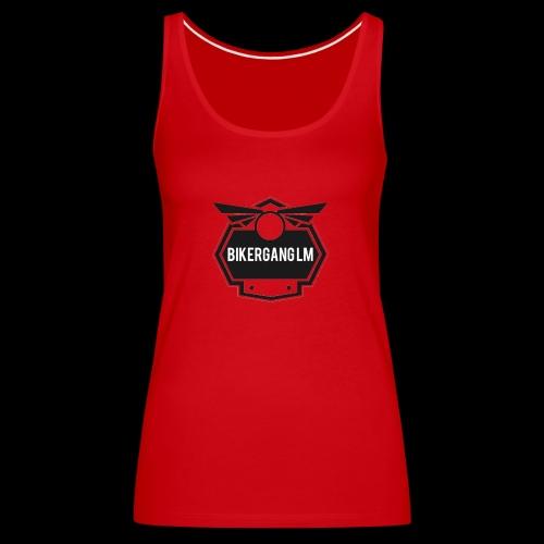 BikerGang LM Logo - Frauen Premium Tank Top