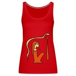 Hieroglyphen Dsched Medu - Frauen Premium Tank Top