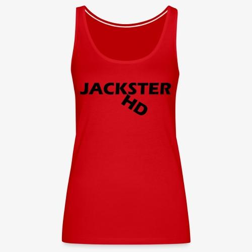 jacksterHD shirt design - Women's Premium Tank Top