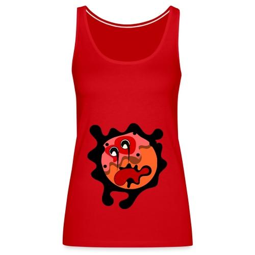 scary cartoon - Vrouwen Premium tank top