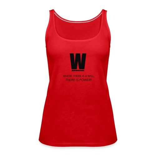 Willpower Science - Women's Premium Tank Top