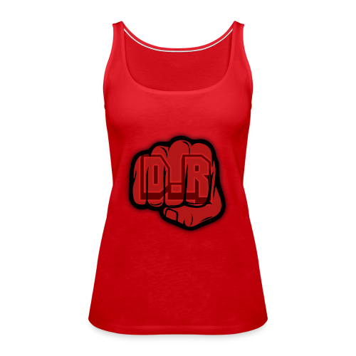 DigitalRelic Big Fist Logo - Premiumtanktopp dam