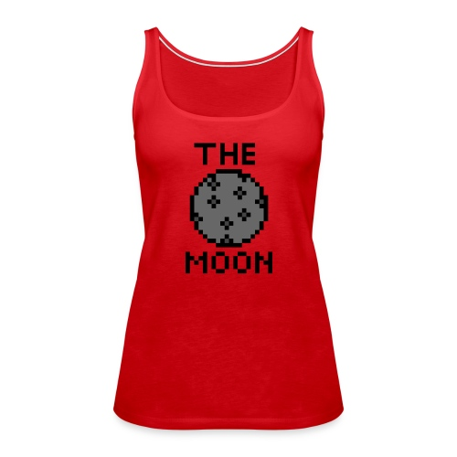 The Moon - Frauen Premium Tank Top