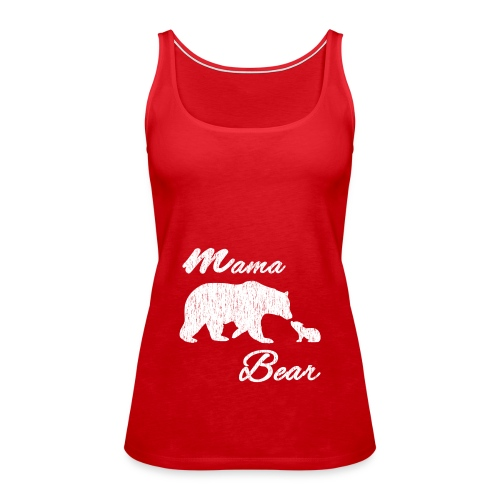 mamabearvintage - Frauen Premium Tank Top