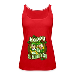 St- Patricks Day couple holiday gift surprise - Frauen Premium Tank Top