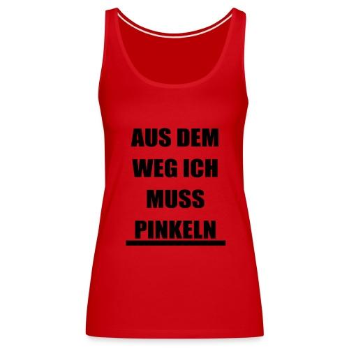 PINKELN schwarz - Frauen Premium Tank Top