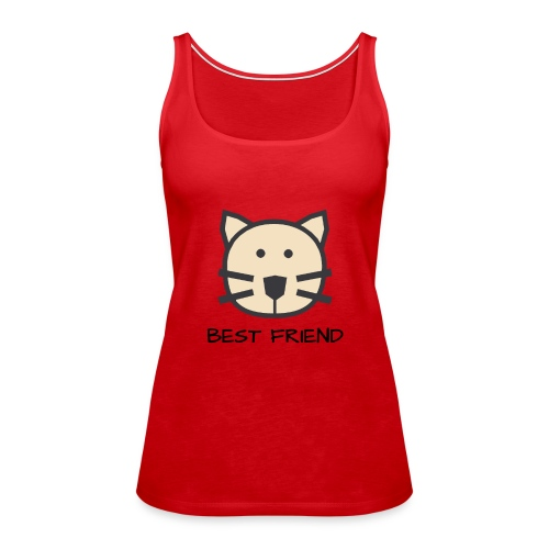 Katzen - Best Friends - Frauen Premium Tank Top