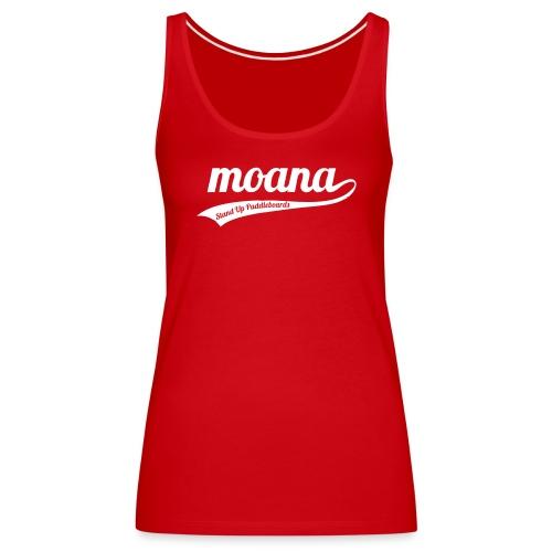 Moana retro logo - Vrouwen Premium tank top