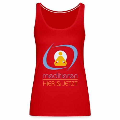 MeditierenHierJetzt.ch - Frauen Premium Tank Top