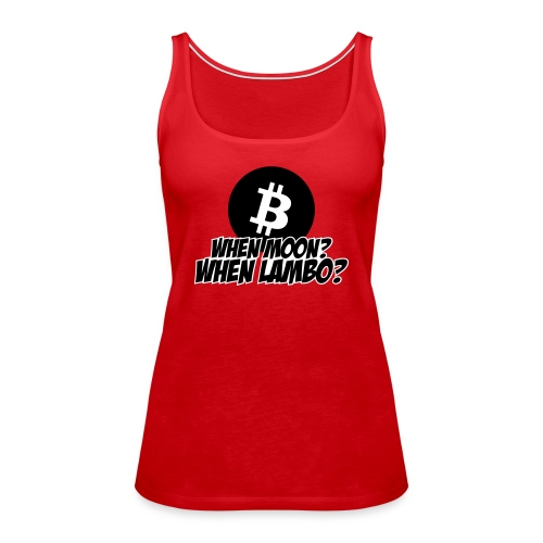 When Moon When Lambo - Women's Premium Tank Top