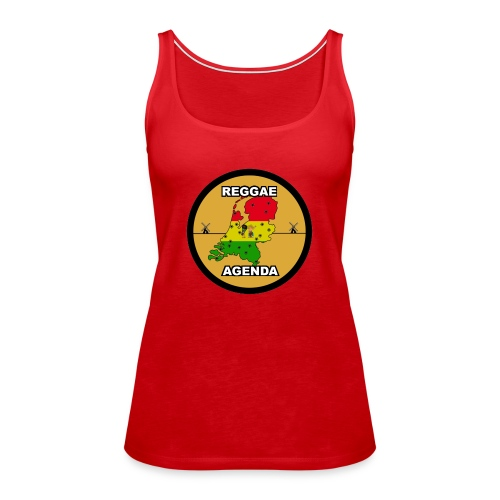 reggae agenda PSD web 2017 PNG - Vrouwen Premium tank top