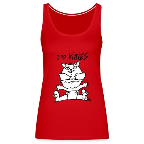 baby i love kitties - Vrouwen Premium tank top