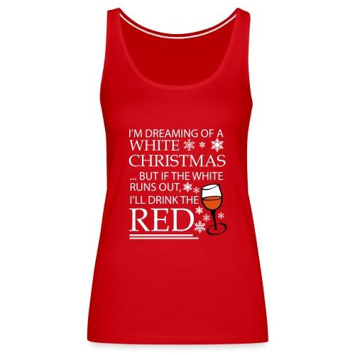 White Christmas - Women's Premium Tank Top