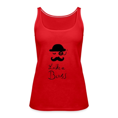 Boss - Frauen Premium Tank Top
