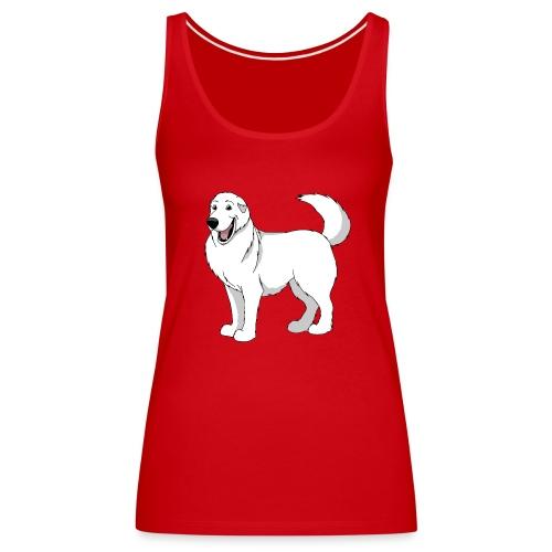 Loveable Pyrenean Mountain Dog - Women's Premium Tank Top