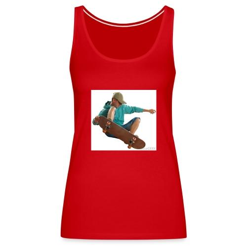 skateboardjump - Canotta premium da donna