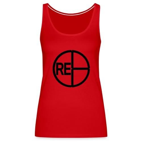 CRE8LogoBlack - Women's Premium Tank Top