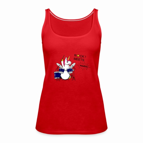 Einhorn Design - Frauen Premium Tank Top
