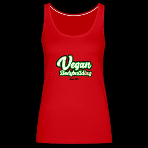 Vegan Bodybuilding -design - Naisten premium hihaton toppi