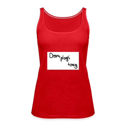 dom plays song - Women's Premium Tank Top