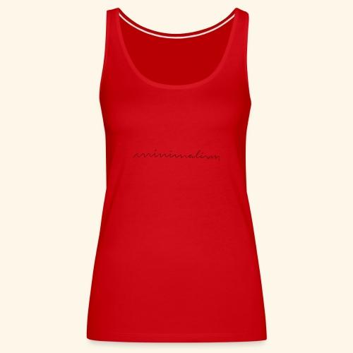 minimalism - Frauen Premium Tank Top