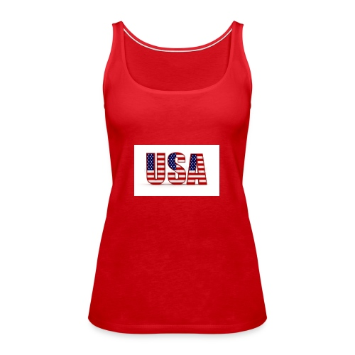 usa - Frauen Premium Tank Top