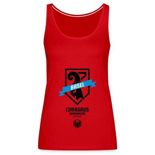 T Shirt Aufdruck Front - Frauen Premium Tank Top