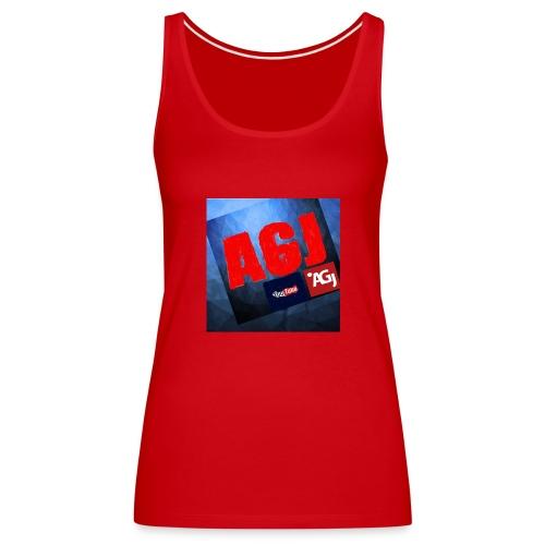 AGJ Nieuw logo design - Vrouwen Premium tank top
