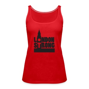 London Strong III - Women's Premium Tank Top