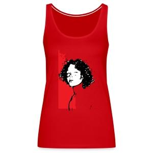 L'enfant rouge représente la terre rouge d'Afrique - Débardeur Premium Femme