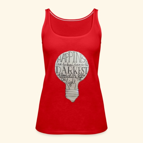 HappinessIsEverywhere - Women's Premium Tank Top
