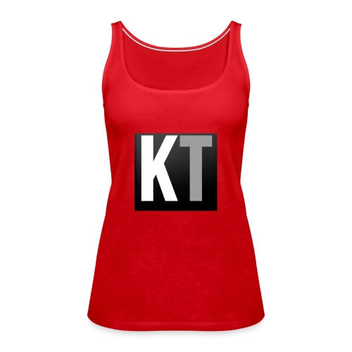 KT iPhone edition phone case - Women's Premium Tank Top