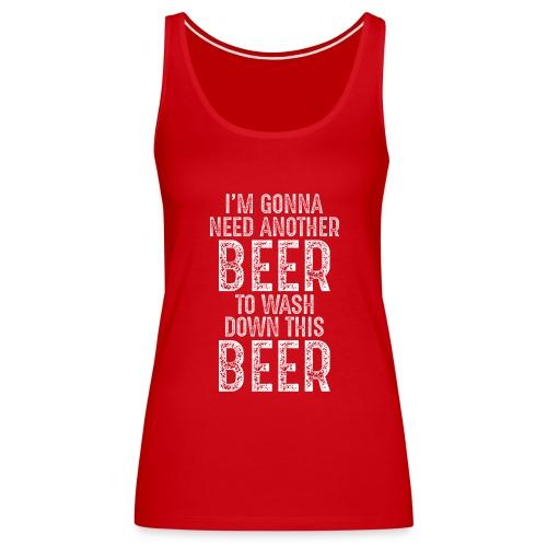 Funny St Patricks Day Irish T Shirt - Women's Premium Tank Top