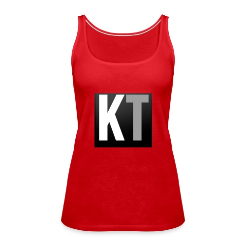 KT iPhone edition phone case - Women's Premium Tank Top