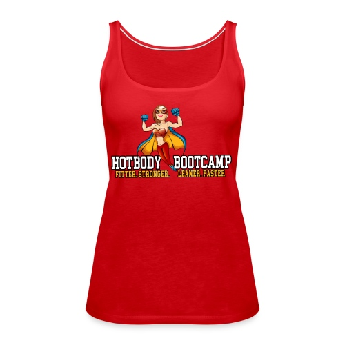 Hot Body Bootcamp - Women's Premium Tank Top